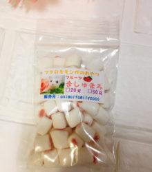 フクロモモンガのおやつ♪フルーツマシュマロ(いちご味)20g